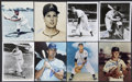 Autographs:Photos, Vintage Athletics/Royals Greats Signed Photographs Lot of 20....