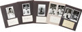 Autographs:Index Cards, Chicago White Sox Greats Signed Index Cards and Photographs Lot of 29....