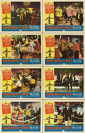 "Movie Posters:Rock and Roll, Shake, Rattle and Rock (American International, 1956). Lobby CardSet of 8 (11"" X 14"").... (Total: 8 Item)"