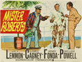 "Movie Posters:Comedy, Mister Roberts (Warner Brothers, 1955). British Quad (30"" X40"")...."