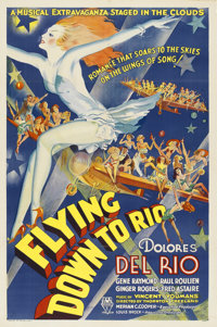 "Flying Down to Rio (RKO, 1933). One Sheet (27"" X 41"")"