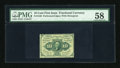 Fractional Currency:First Issue, Fr. 1240 10¢ First Issue PMG Choice About Unc 58....
