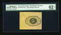 Fractional Currency:First Issue, Fr. 1231SP 5¢ First Issue Wide Margin Back Only PMG Uncirculated 62 EPQ....