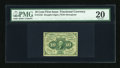 Fractional Currency:First Issue, Fr. 1242 10c First Issue PMG Very Fine 20....