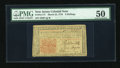 Colonial Notes:New Jersey, New Jersey March 25, 1776 3s PMG About Uncirculated 50....
