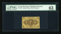 Fractional Currency:First Issue, Fr. 1230 5c First Issue PMG Choice Uncirculated 63....