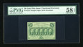 Fractional Currency:First Issue, Fr. 1312 50c First Issue PMG Choice About Unc 58 EPQ....