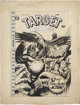 L. B. Cole Target Comics V9#4 Cover Original Art (Novelty Publications, 1948)
