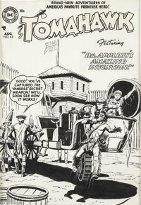 Fred Ray Tomahawk #42 Cover Original Art (DC, 1956)