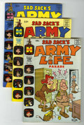 Silver Age (1956-1969):Humor, Sad Sack's Army Life Parade #1-61 File Copies Group (Harvey, 1963-76) Condition: Average VF/NM.... (Total: 61 Comic Books)