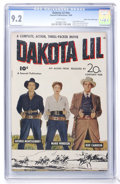 Golden Age (1938-1955):Western, Fawcett Movie Comic #nn Dakota Lil - Mile High pedigree (Fawcett,1949) CGC NM- 9.2 White pages....