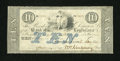 Obsoletes By State:Louisiana, New Orleans, LA- Bank of Louisiana $10 May 2, 1851. ...