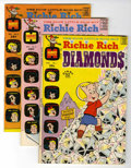 Bronze Age (1970-1979):Humor, Richie Rich Diamonds #1-54 and 59 File Copies Group (Harvey,1972-82) Condition: Average NM-.... (Total: 55 Comic Books)