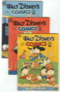 Golden Age (1938-1955):Cartoon Character, Walt Disney's Comics and Stories Short Box Group (Dell, 1949-59)Condition: Average GD/VG....