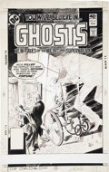 Original Comic Art:Covers, Luis Dominguez Ghosts #91 Cover Original Art (DC, 1979)....