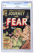 Golden Age (1938-1955):Horror, Journey Into Fear #4 Mile High pedigree (Superior, 1951) CGC VF+8.5 White pages....