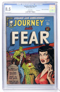 Golden Age (1938-1955):Horror, Journey Into Fear #2 Mile High pedigree (Superior, 1951) CGC VF+8.5 White pages....
