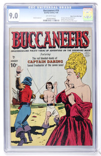 Buccaneers #19 Mile High pedigree (Quality, 1950) CGC VF/NM 9.0 Off-white pages