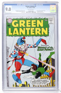 Silver Age (1956-1969):Superhero, Green Lantern #1 (DC, 1960) CGC VF/NM 9.0 Off-white pages....