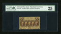 Fractional Currency:First Issue, Fr. 1282 25c First Issue PMG Very Fine 25....