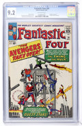 Silver Age (1956-1969):Superhero, Fantastic Four #26 (Marvel, 1964) CGC NM- 9.2 Off-white pages....