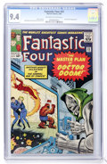 Silver Age (1956-1969):Superhero, Fantastic Four #23 (Marvel, 1964) CGC NM 9.4 Off-white to whitepages....