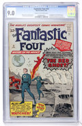 Silver Age (1956-1969):Superhero, Fantastic Four #13 (Marvel, 1963) CGC VF/NM 9.0 Cream to off-white pages....