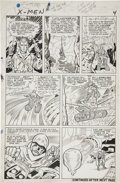 Original Comic Art:Panel Pages, Jack Kirby and Chic Stone X-Men #9 page 4 Original Art(Marvel, 1965)....