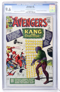 Silver Age (1956-1969):Superhero, The Avengers #8 (Marvel, 1964) CGC NM+ 9.6 Off-white to whitepages....