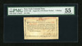 Colonial Notes:New York, New York August 25, 1774 (Water Works) 1s PMG About Uncirculated55....