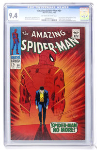 The Amazing Spider-Man #50 (Marvel, 1967) CGC NM 9.4 Off-white to white pages