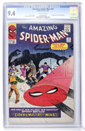Silver Age (1956-1969):Superhero, The Amazing Spider-Man #22 (Marvel, 1965) CGC NM 9.4 Off-whitepages....