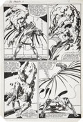 Original Comic Art:Panel Pages, John Byrne Fantastic Four #246, Dr. Doom page 14 OriginalArt (Marvel, 1982)....