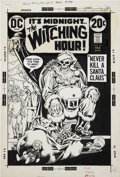 Original Comic Art:Covers, Nick Cardy The Witching Hour #28 Cover Original Art (DC,1973)....