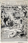 Original Comic Art:Splash Pages, Brent Anderson and Joe Rubinstein Uncanny X-Men #144 SplashPage 1 Original Art (Marvel, 1981)....