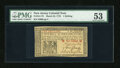 Colonial Notes:New Jersey, New Jersey March 25, 1776 1s PMG About Uncirculated 53....