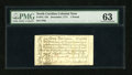 Colonial Notes:North Carolina, North Carolina December, 1771 L1 PMG Choice Uncirculated 63....