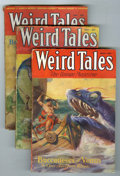 Pulps:Horror, Weird Tales Group (Popular Fiction, 1932-33).... (Total: 4 Items)