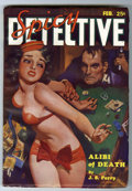 Pulps:Detective, Spicy Detective Stories - February 1935 (Culture, 1935) Condition:VF....