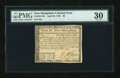 Colonial Notes:New Hampshire, New Hampshire April 29, 1780 $8 Uncancelled PMG Very Fine 30....