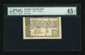 Colonial Notes:Georgia, Georgia 1776 3d PMG Choice Extremely Fine 45 EPQ....