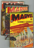 Pulps:Science Fiction, Marvel Science Stories Group (Red Circle, 1938-51) Condition:Average VG.... (Total: 8 Items)