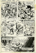 Original Comic Art:Panel Pages, Bernie Wrightson Swamp Thing #10 page 13 Original Art (DC,1974)....