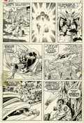 Original Comic Art:Panel Pages, Jack Kirby and Bill Everett Thor #172 page 11 Original Art(Marvel, 1969)....