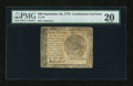 Colonial Notes:Continental Congress Issues, Continental Currency September 26, 1778 $60 PMG Very Fine 20....