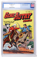 Golden Age (1938-1955):Western, Gene Autry Comics #3 Mile High pedigree (Fawcett, 1942) CGC NM+ 9.6Off-white pages....