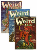 Pulps:Horror, Weird Tales Group (Popular Fiction, 1946-54) Condition: AverageFN.... (Total: 53 Items)