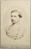 Autographs:Military Figures, Very Fine Signed and Dated CDV portrait of Confederate Gen. P. G.T. Beauregard. Wears regulation Confederate general's froc...