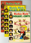 Silver Age (1956-1969):Humor, Richie Rich Dollars and Cents #3-109 File Copies Box Lot (Harvey, 1964-82) Condition: Average VF/NM.... (Total: 107 Comic Books)