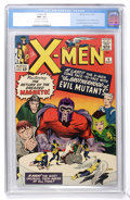 Silver Age (1956-1969):Superhero, X-Men #4 (Marvel, 1964) CGC NM- 9.2 Off-white to white pages....